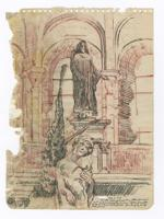 Thumbnail for Church sculpture, August …