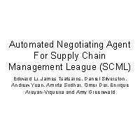 Thumbnail for Automated Negotiating Agent …