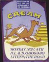 Thumbnail for Cream concert poster