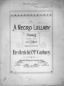 Thumbnail for A Negro lullaby: ...