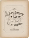 Thumbnail for Abraham's tea party: ...