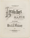 Thumbnail for Lincoln boys march: ...