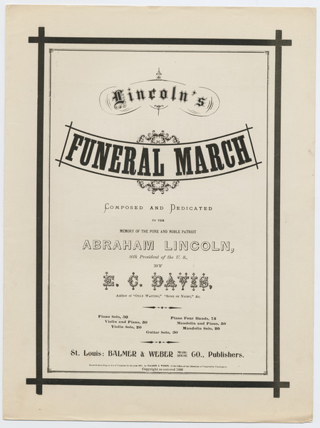 Thumbnail for Funeral march: <small> ...