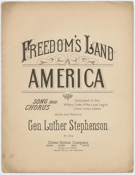 Thumbnail for Freedom's land, America: ...