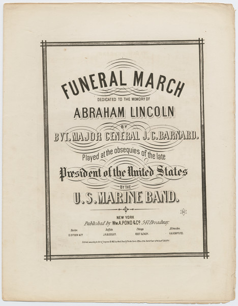 Thumbnail for Funeral march dedicated ...