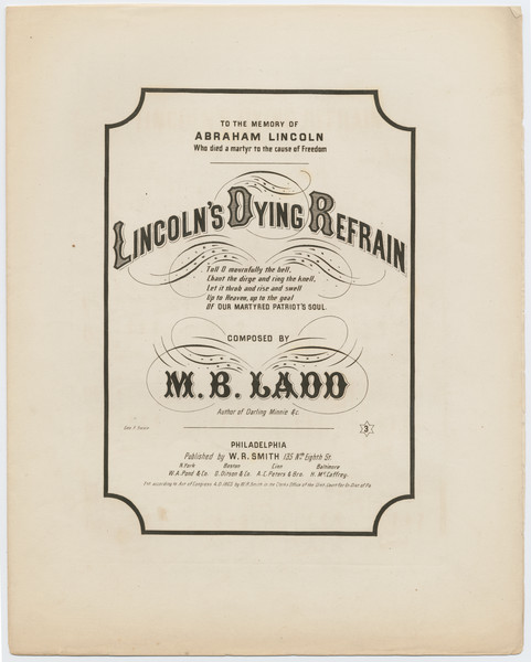 Thumbnail for Lincoln's dying refrain