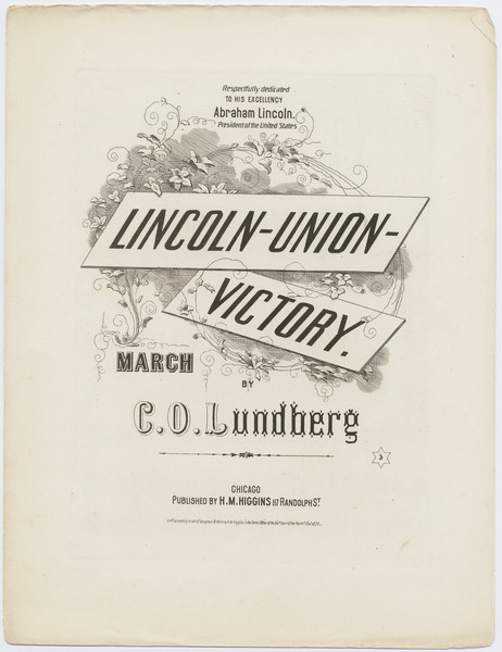 Thumbnail for Lincoln-Union-victory: <small> march ...