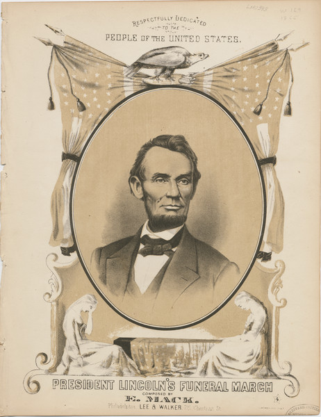 Thumbnail for President Lincoln's funeral ...