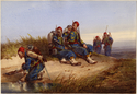 Thumbnail for Zouaves resting