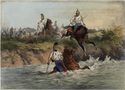 Thumbnail for Austrian dragoons crossing …