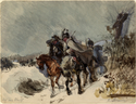 Thumbnail for Prussian cavalry on …