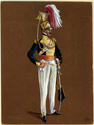 Thumbnail for 19th Lancers. Officer, ...