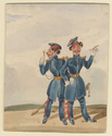 Thumbnail for British Cavalry officers …