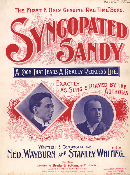 Thumbnail for Syncopated Sandy:: <small> ...