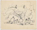 Thumbnail for Five soldiers resting …