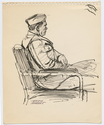 Thumbnail for Army officer seated …