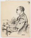 Thumbnail for Soldier playing piano, …