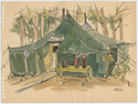 Thumbnail for Two Army tents, …