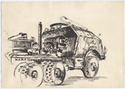 Thumbnail for Tank recovery truck, …