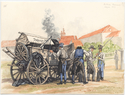 Thumbnail for Austrian regimental wagon ...