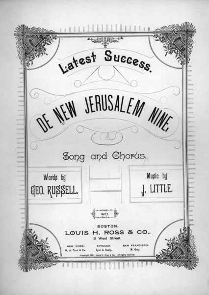 Thumbnail for De new Jerusalem nine:: ...