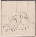 Thumbnail for Soldiers huddled on …