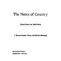 Thumbnail for The Notes of …