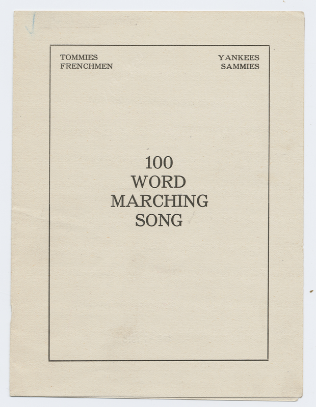 Thumbnail for 100 word marching ...