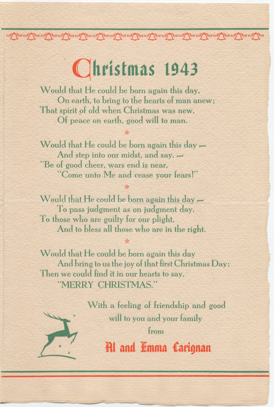 Thumbnail for Christmas 1943