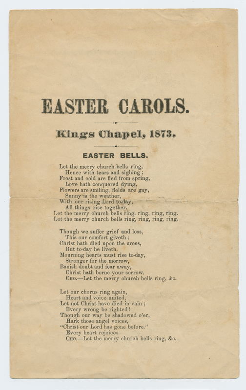 Thumbnail for Easter carols: <small> ...