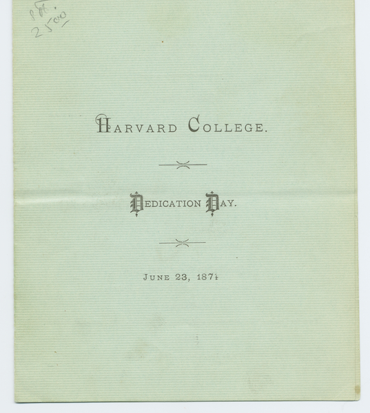 Thumbnail for Harvard College: <small> ...