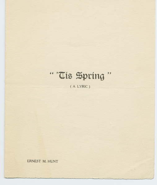 Thumbnail for 'Tis spring
