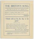 Thumbnail for The Briton's song