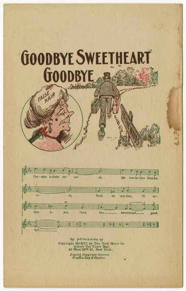 Thumbnail for Goodbye, sweetheart, goodbye