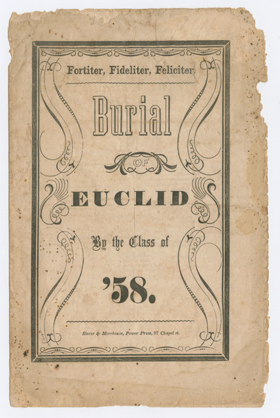 Thumbnail for Burial of Euclid ...