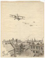 Thumbnail for British air-raid over ...