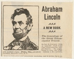 Thumbnail for Abraham Lincoln, a ...