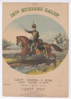 Thumbnail for The 18th Hussars galop