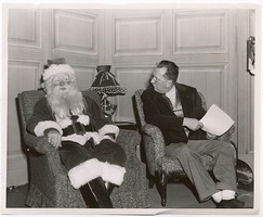 Thumbnail for Damon interviewing Santa ...