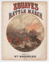 Thumbnail for Zouaves battle march: …