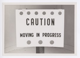 "Thumbnail for ""Caution. Moving in ..."
