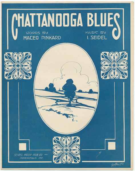 Thumbnail for Chattanooga blues: <small> ...
