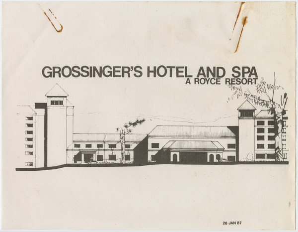 Thumbnail for Grossinger's Hotel and ...