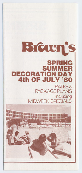 Thumbnail for Brown's: spring/summer, Decoration ...