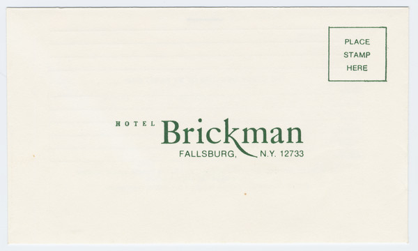 Thumbnail for Hotel Brickman, reservation ...
