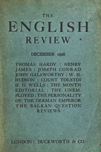English Review cover image