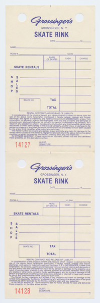 Thumbnail for Grossinger's Skate Rink ...