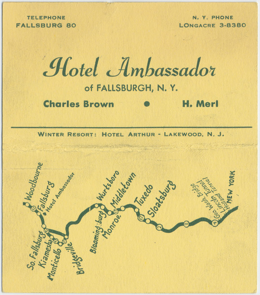 Thumbnail for Ambassador Hotel, business ...