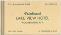 Thumbnail for Friedman's Lake View ...