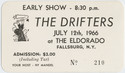 Thumbnail for The Drifters at the ...